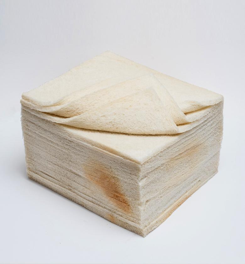 Pan miga blanco